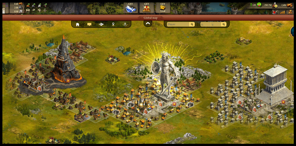 Imperia Online Gameplay Screenshot 1