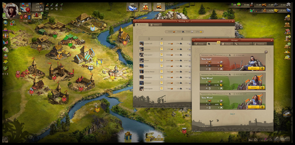 Imperia Online Gameplay Screenshot 2