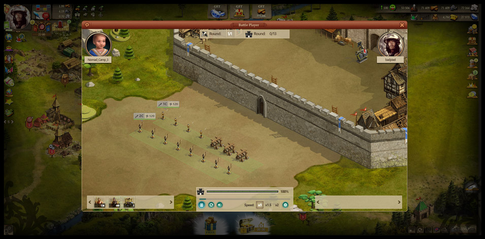 Imperia Online Gameplay Screenshot 3