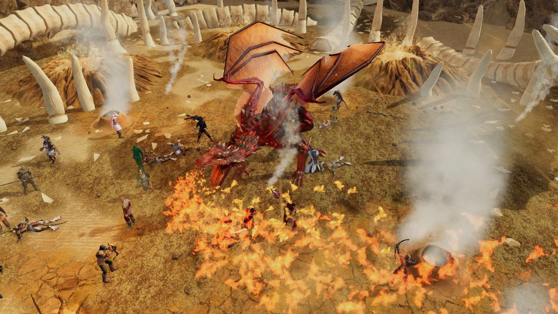 Legends of Aria Gameplay Screenshot 3