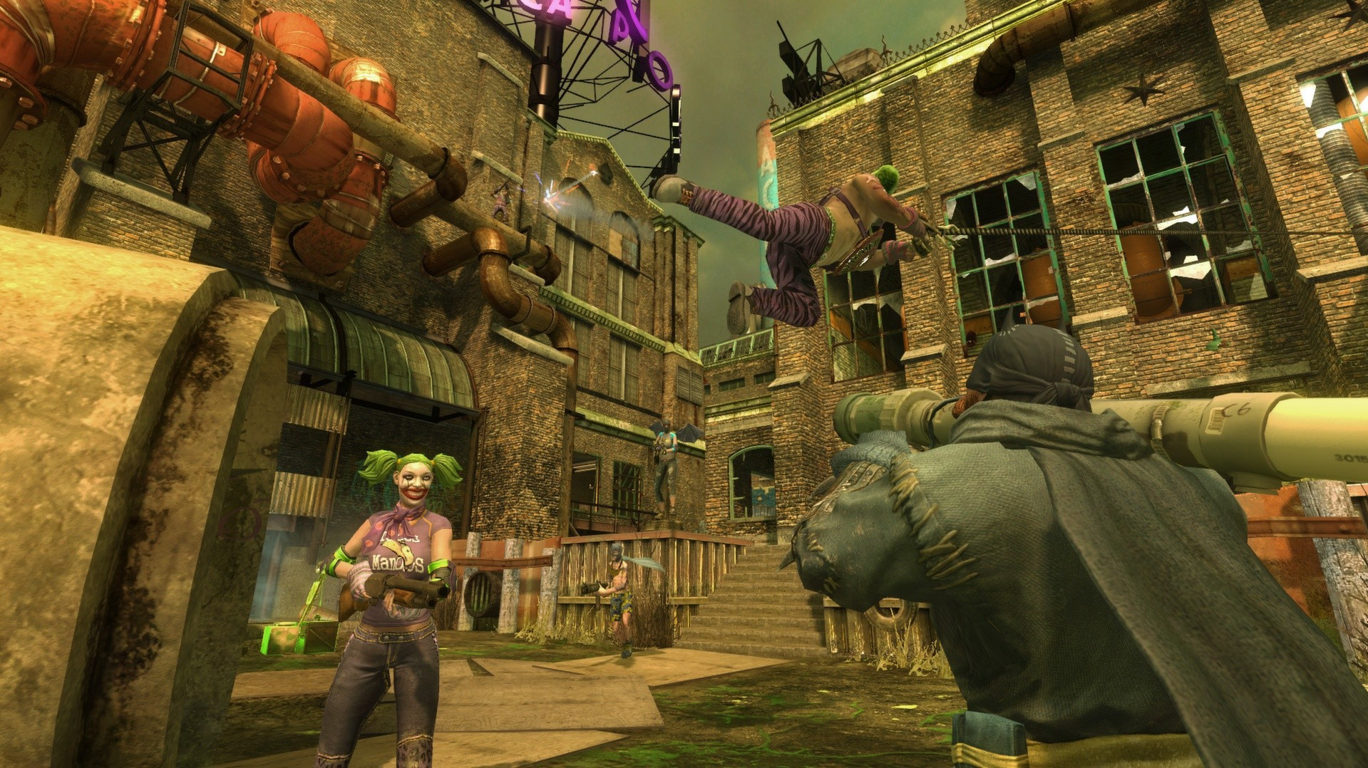 Gotham City Impostors Gameplay Screenshot 1