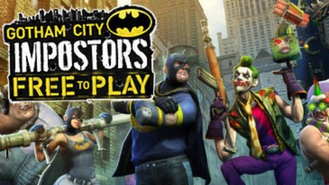 Gotham City Impostors - A free to play multiplayer FPS that pits vigilantes dressed up like Batman against criminals dressed up like the Joker