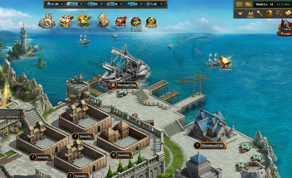 The Third Age Gameplay Screenshot 1