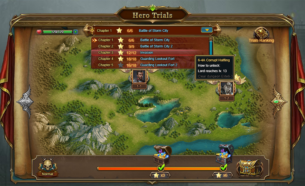 The Third Age Gameplay Screenshot 3