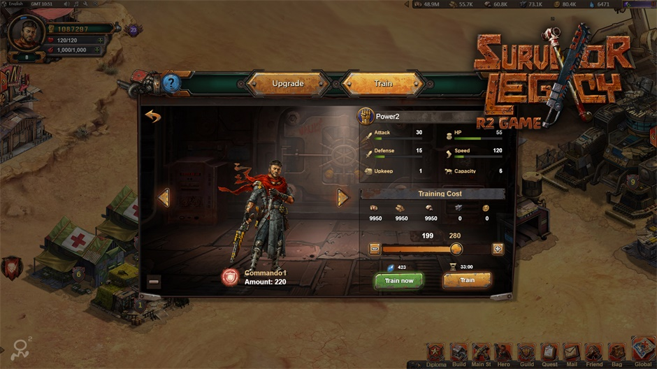 Survivor Legacy Gameplay Screenshot 3