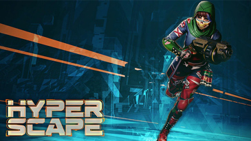 Hyper Scape - A futuristic urban battle royale game with powerful hacks and unique weapons!