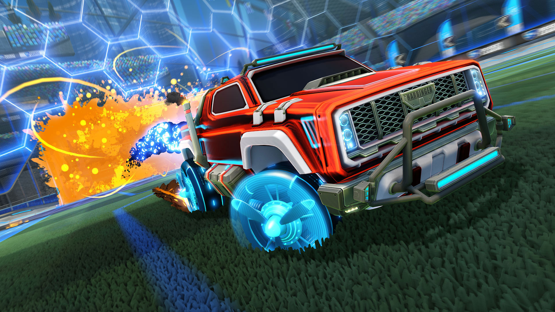 Rocket League Gameplay Screenshot 1