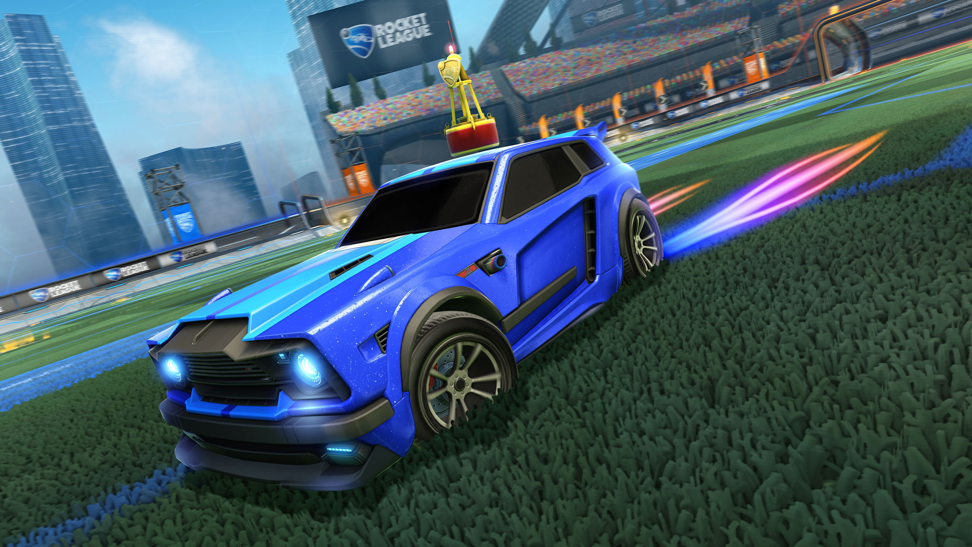 Rocket League Gameplay Screenshot 3