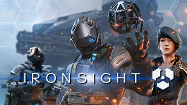 Ironsight - A free-to-play futuristic shooter published by Aeria Games.
