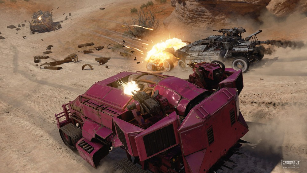 Crossout Gameplay Screenshot 2