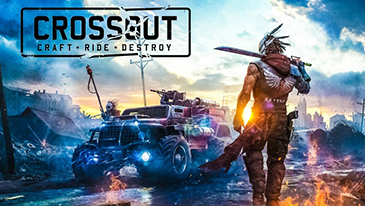 Crossout - A post-apocalyptic MMO vehicle combat game!