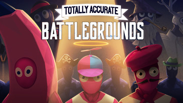 Totally Accurate Battlegrounds - Take 60 players, throw them on a map together with over 90 weapons, including balloon crossbows, pots and pans, and inflatable hammers, add physics-based parkour and you have Landfall's Totally Accurate Battlegrounds (TABG).