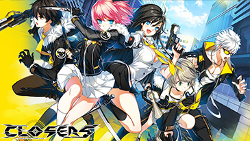 Closers - A free-to-play episodic anime beat-em-up developed by Naddic Games and published by En Masse Entertainment.