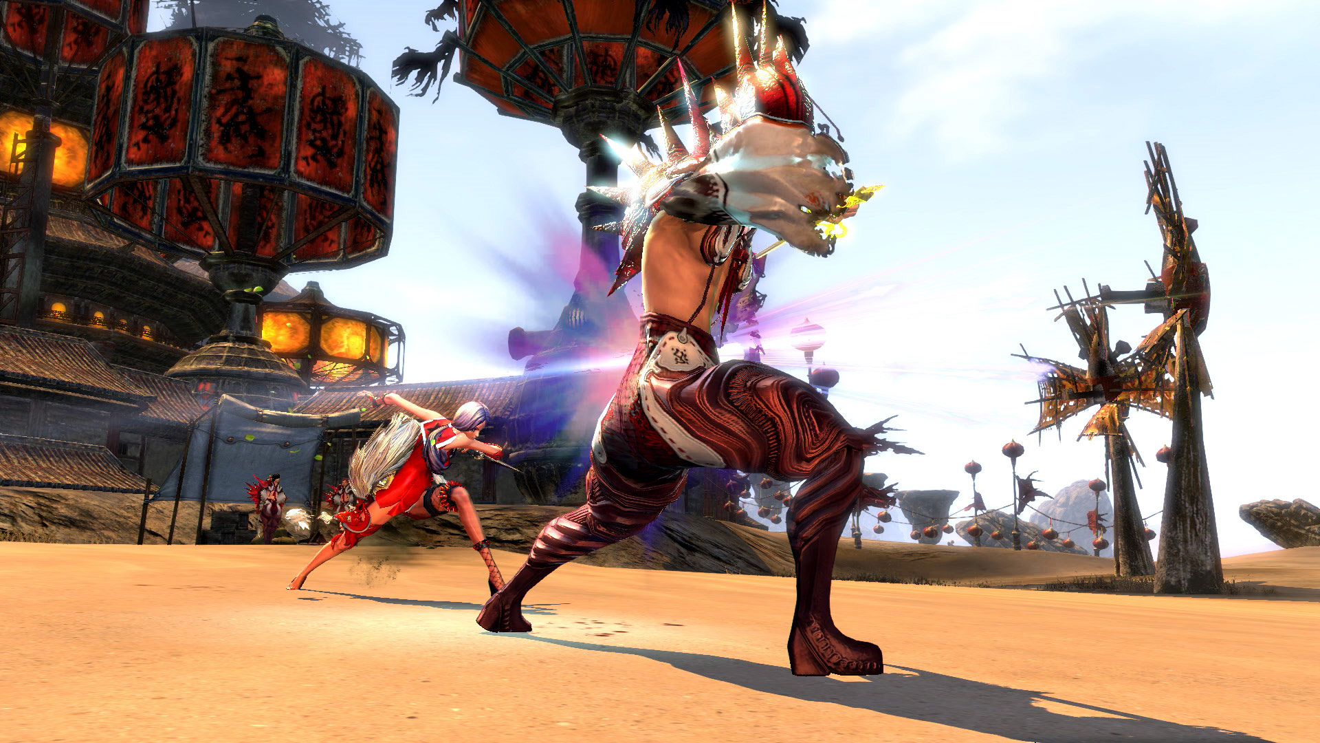 Blade and Soul Gameplay Screenshot 1