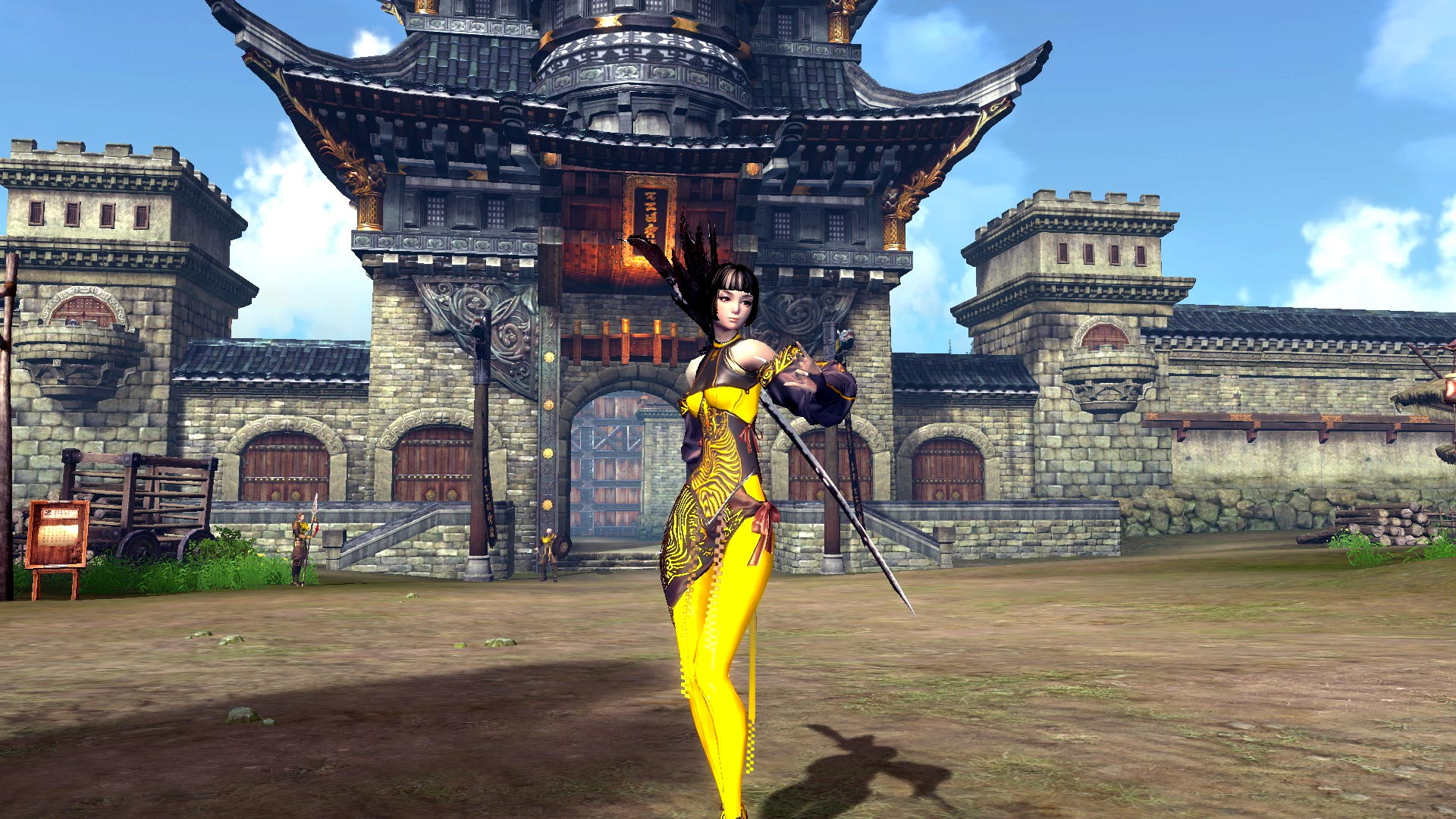 Blade and Soul Gameplay Screenshot 2