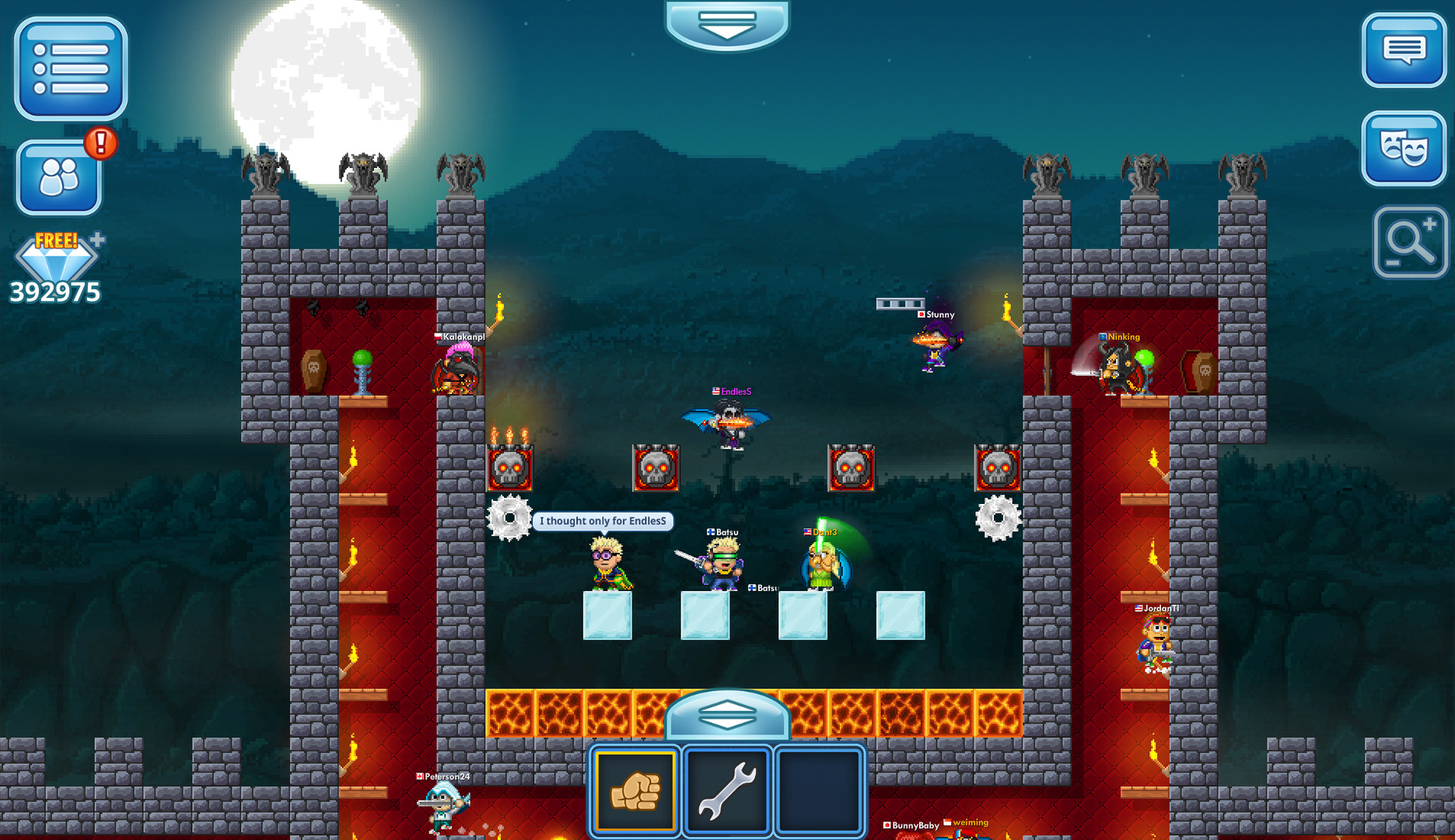 Pixel Worlds Gameplay Screenshot 1