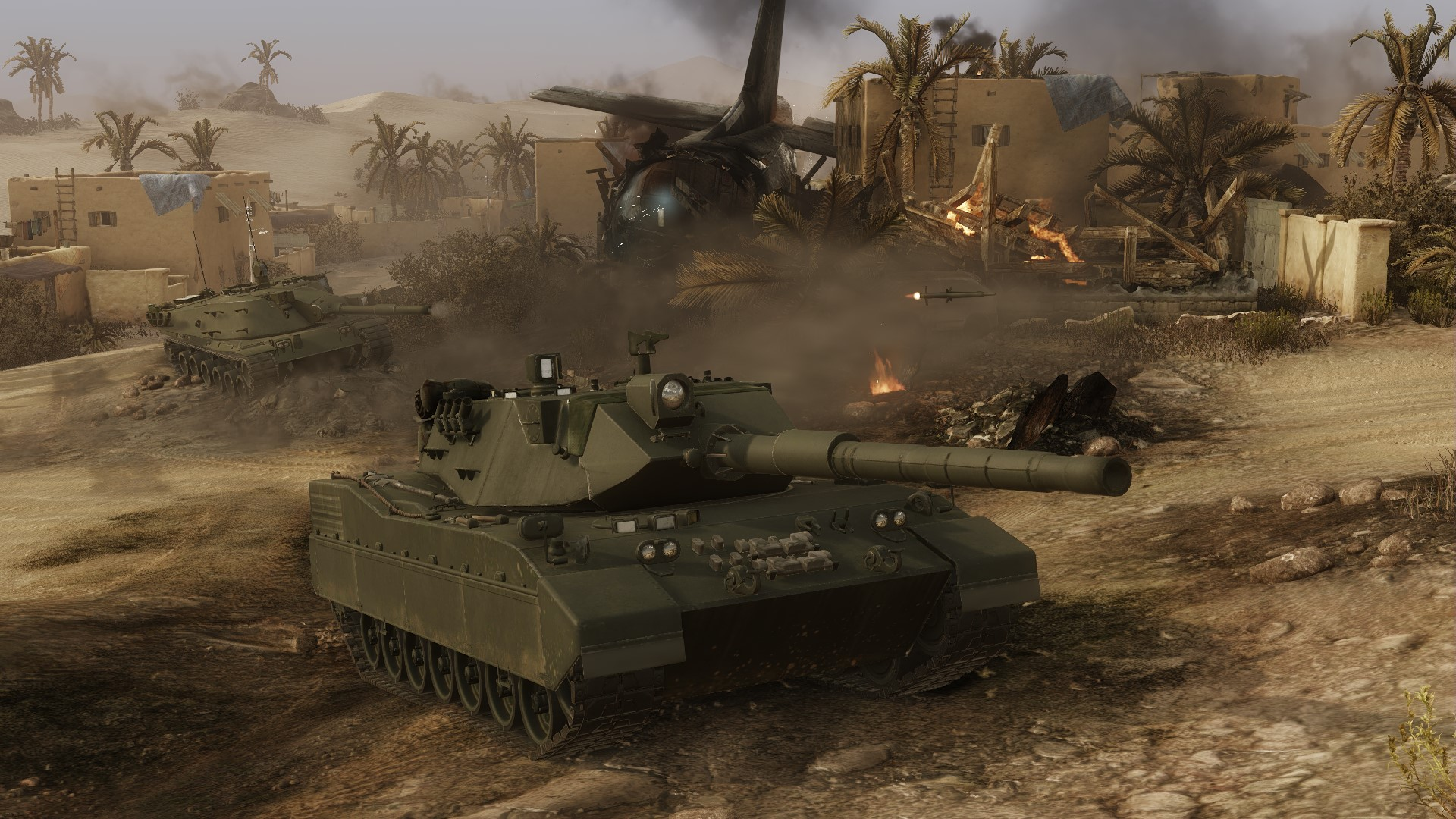 Armored Warfare Gameplay Screenshot 3