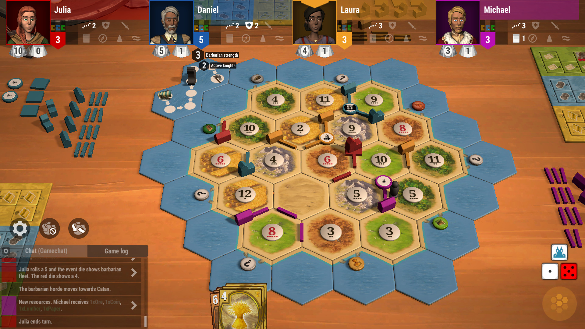 Catan Universe Gameplay Screenshot 1