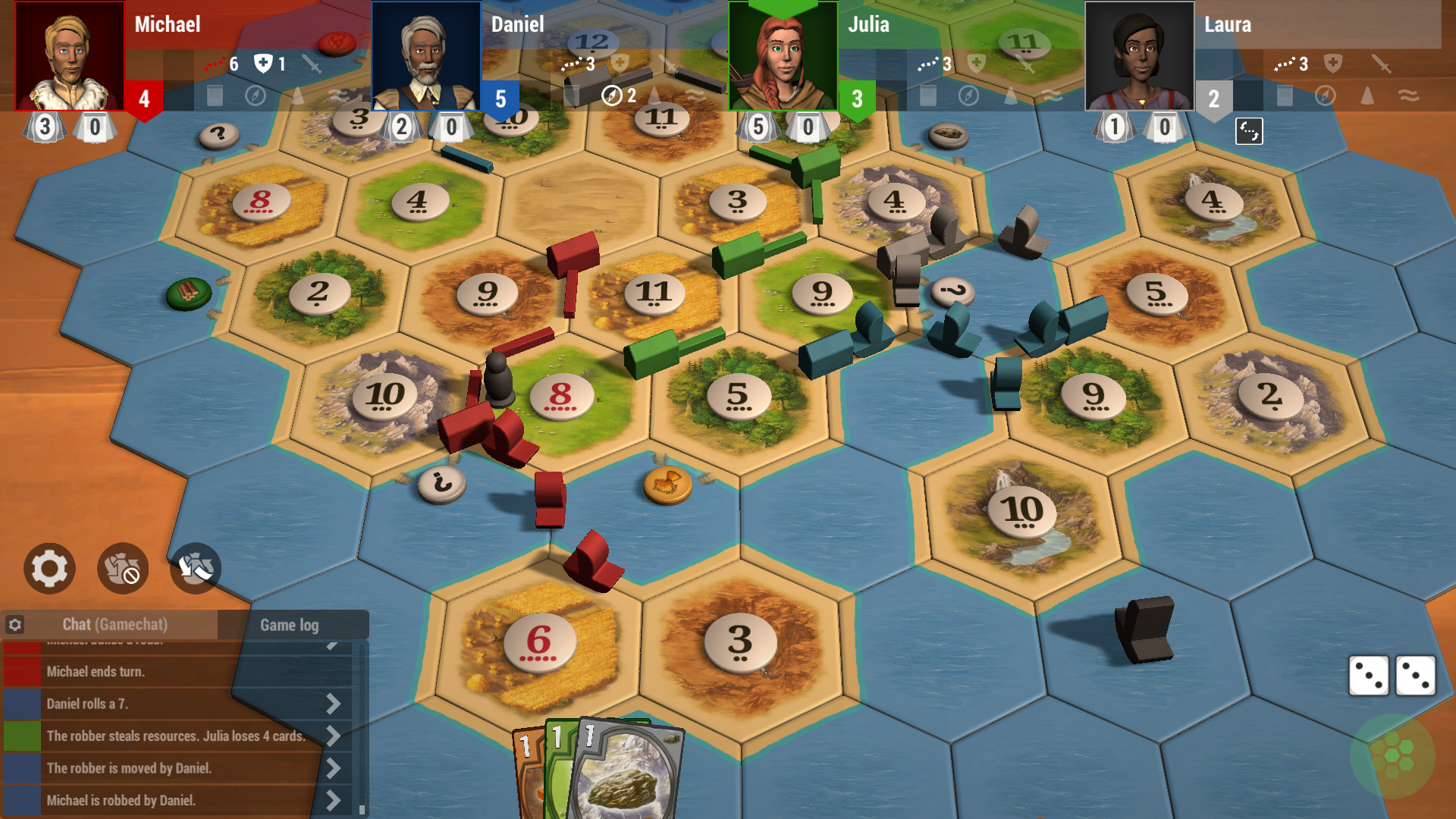 Catan Universe Gameplay Screenshot 2