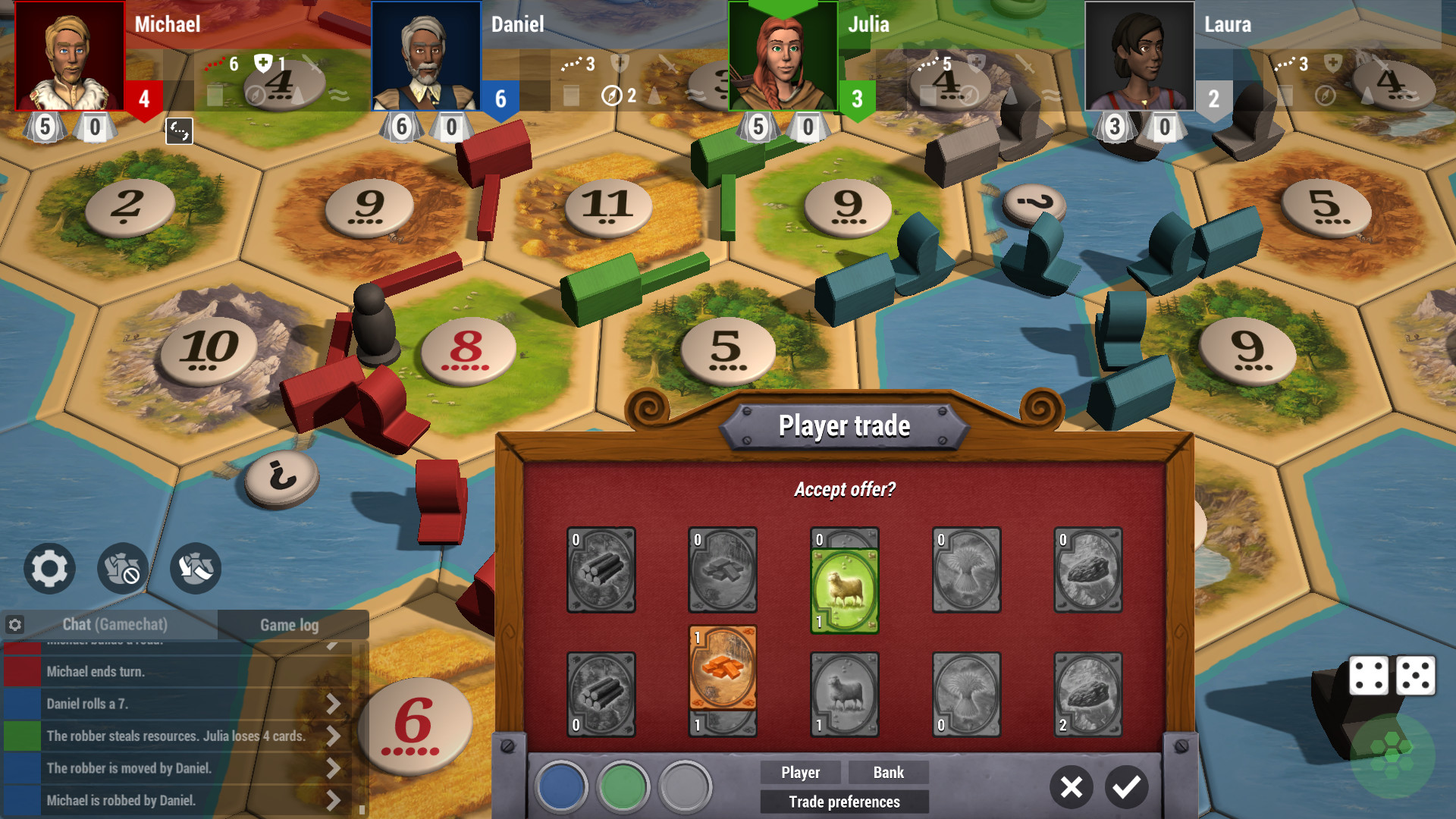 Catan Universe Gameplay Screenshot 3
