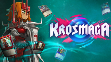 Krosmaga - A free-to-play CCG/tower defense hybrid developed by Ankama Studio and published by Ankama Games.