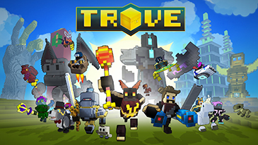 Trove - A free to play Sandbox massively multiplayer online role-playing game!