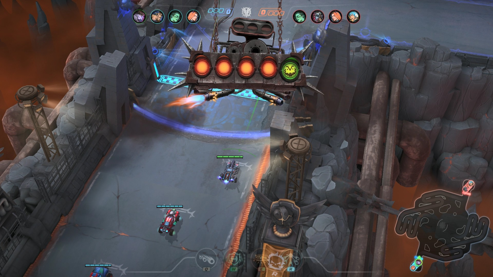 Heavy Metal Machines Gameplay Screenshot 1