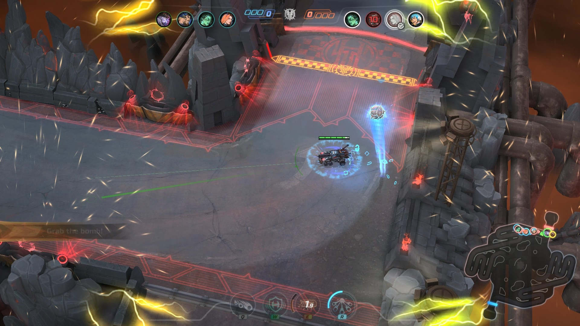 Heavy Metal Machines Gameplay Screenshot 3