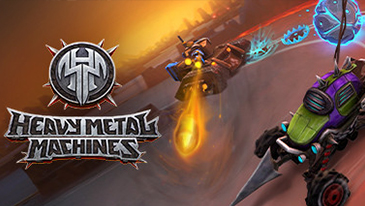 Heavy Metal Machines - A free-to-play multiplayer vehicular combat game based in a post-apocalyptic world.