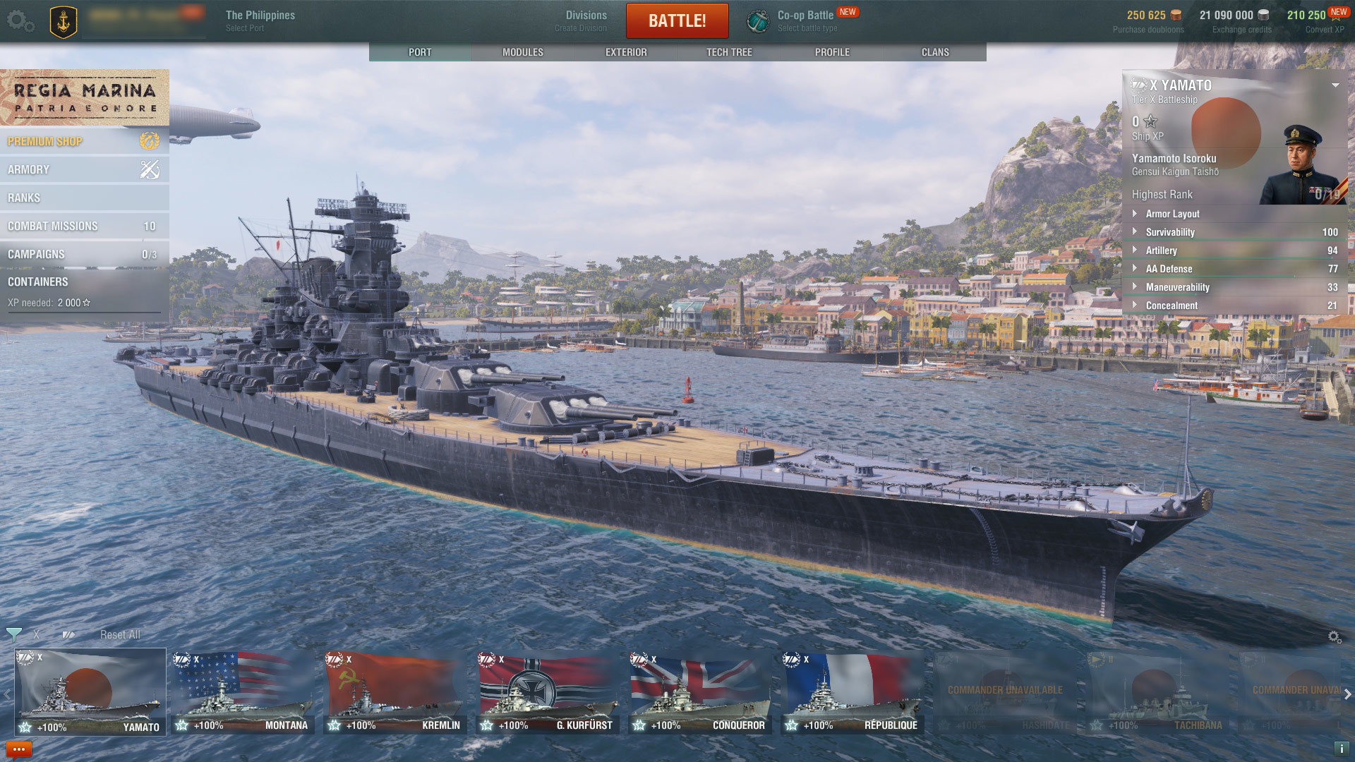 World of Warships Gameplay Screenshot 2