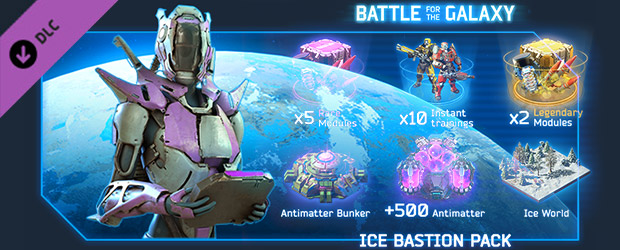 Battle for the Galaxy: Ice Bastion DLC Steam Key Giveaway
